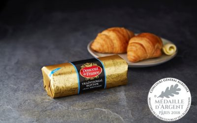 Douceur de France butter wins Silver Medal