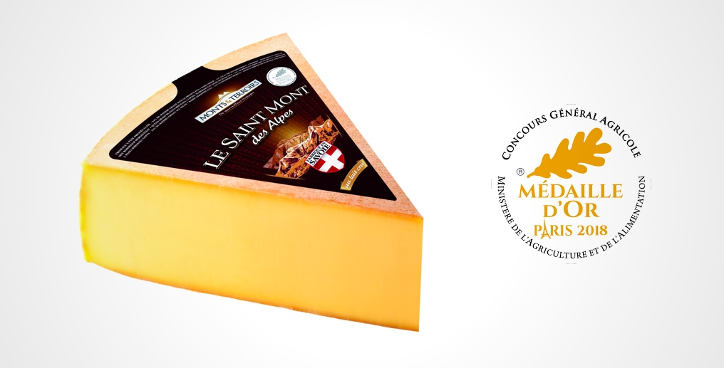 Le Saint Mont des Alpes cheese wins Gold