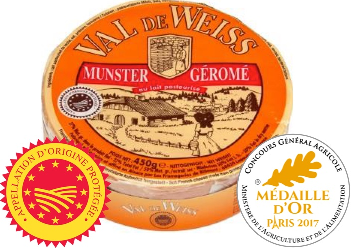 Munster French cheese