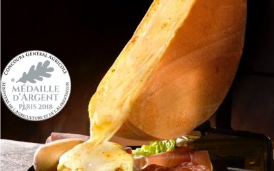 Incredibly creamy Raclette made in France