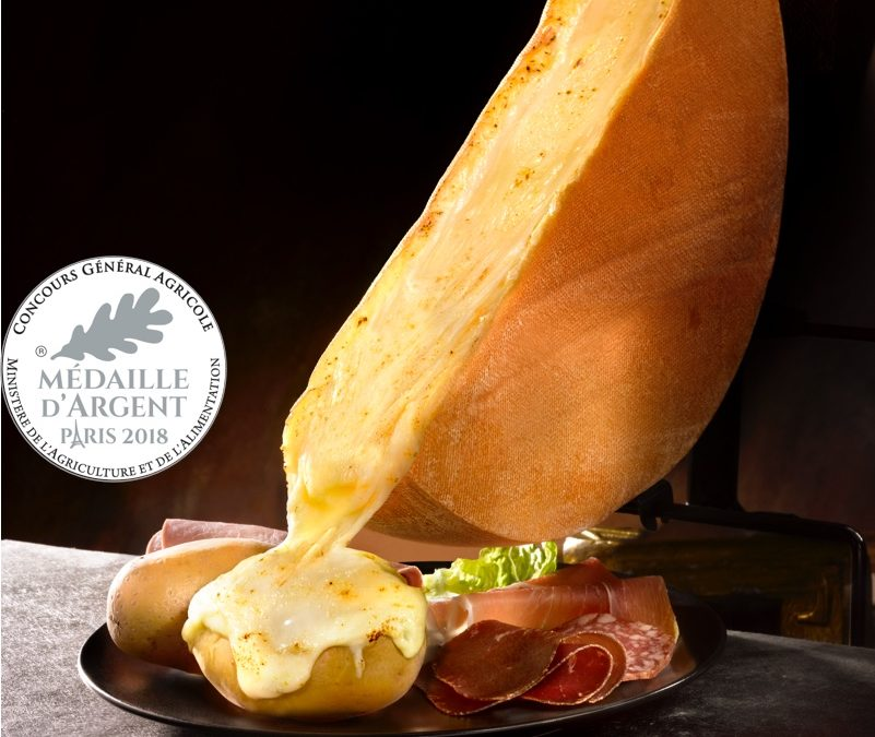 French Raclette cheese