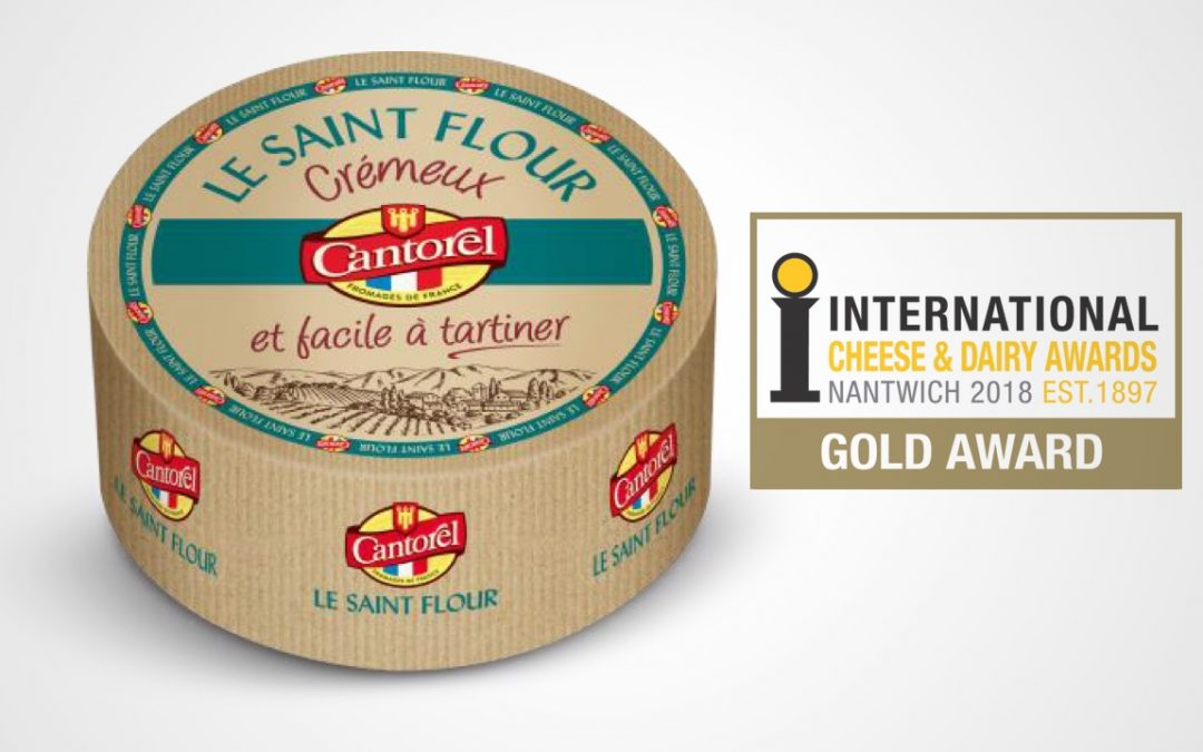 French Bleu Saint Flour cheese wins Gold medal