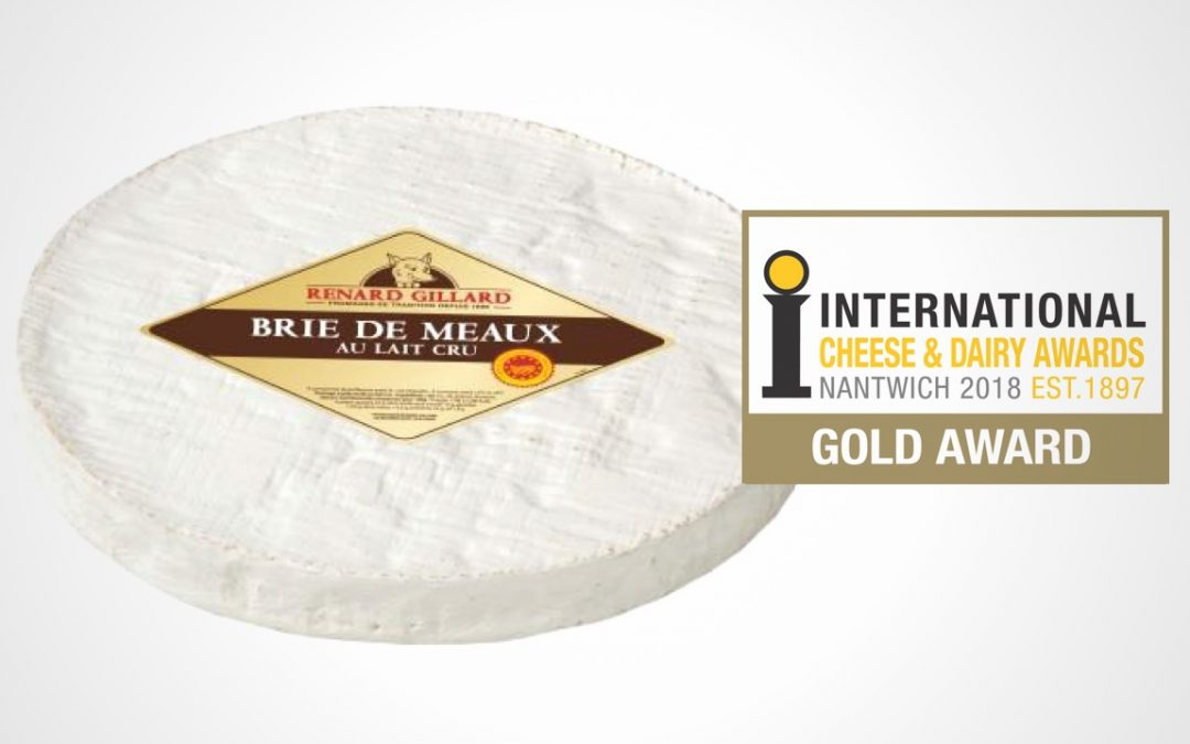 French Brie de Meaux cheese wins Gold Medal
