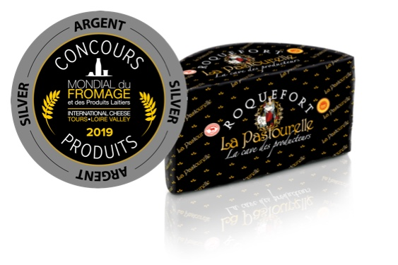 Roquefort PDO wins Silver at Tours World Cheese awards Medals