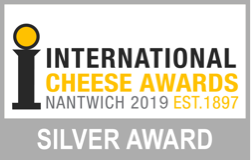 Nantwich Cheese and Dairy Awards SILVER medal