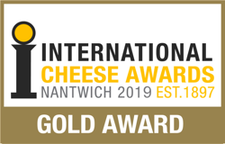 int cheese awards Nantwich 2019 GOLD AWARD
