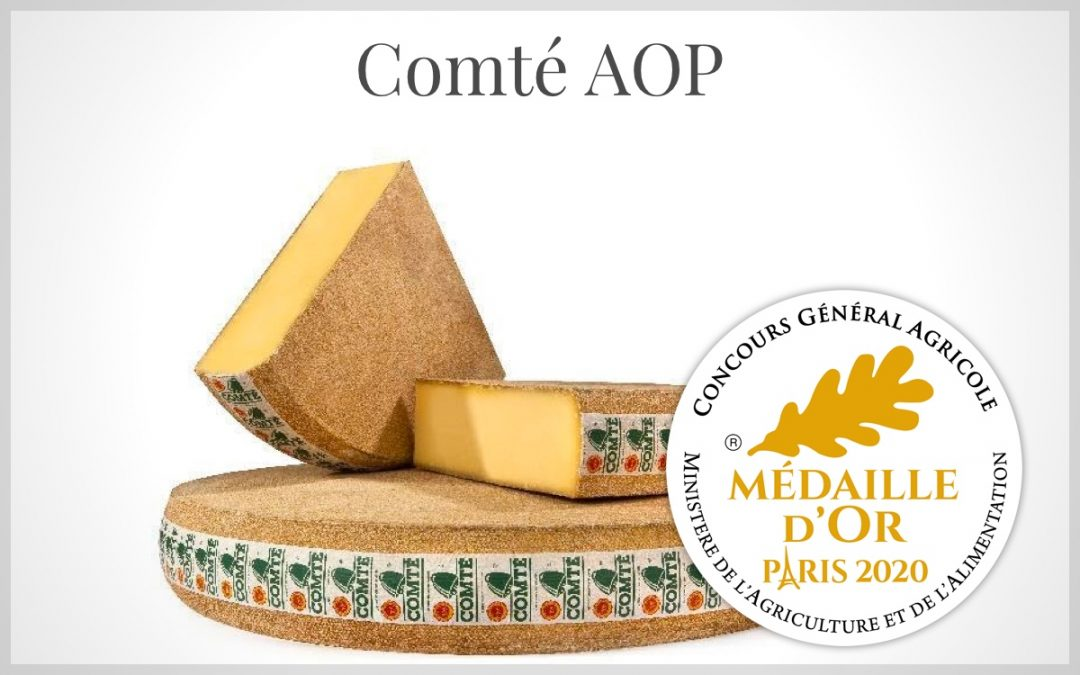 French Comte AOP our Gold medal cheese winner