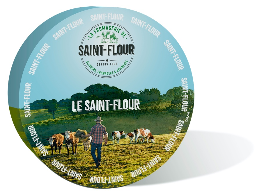 French Bleu Crémeux Saint Flour cheese