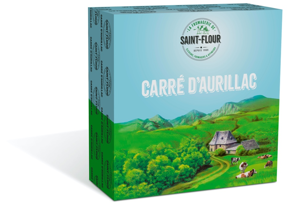 French Carre D'Aurillac cheese