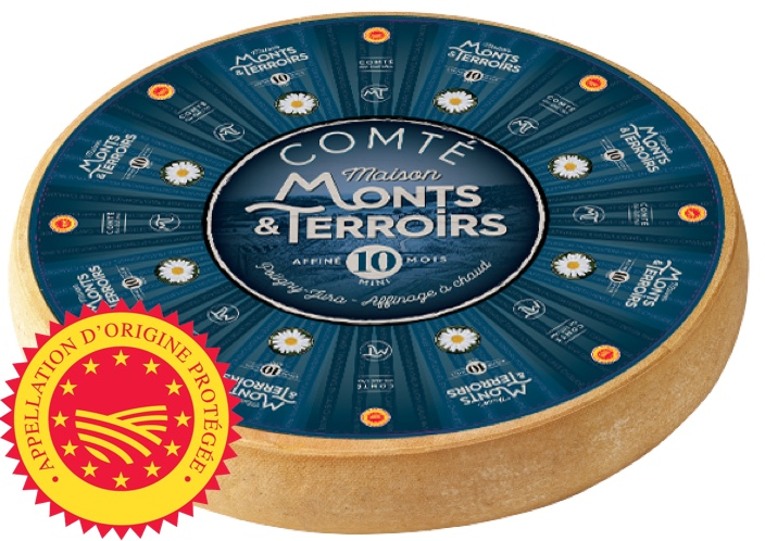 French Comte cheese 10 months ripening