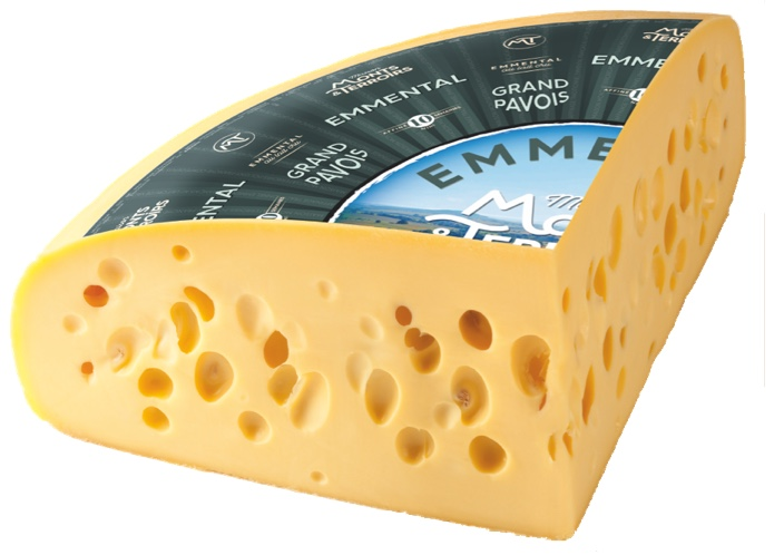 French Emmental cheese 10 weeks ripened