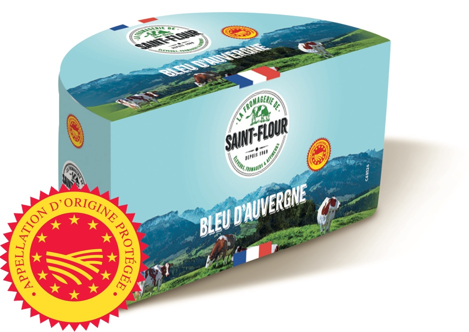 NEW French Bleu d'Auvergne cheese