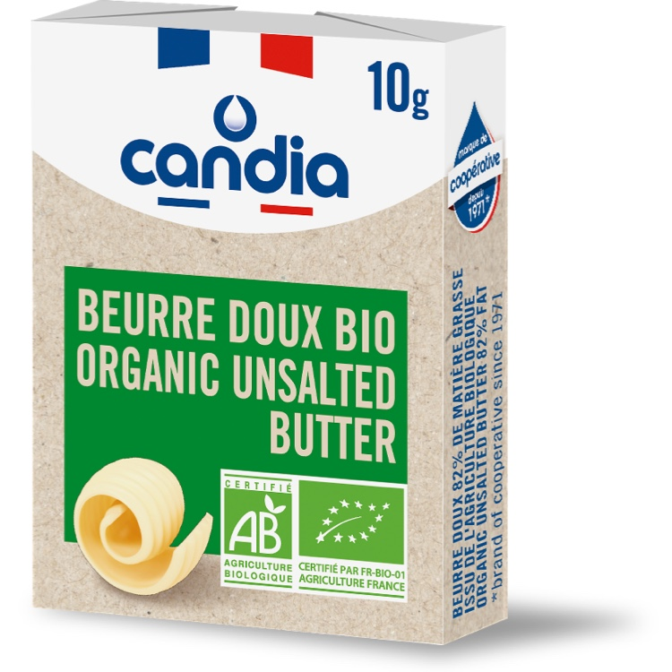 Organic Butter Unsalted 10g portion