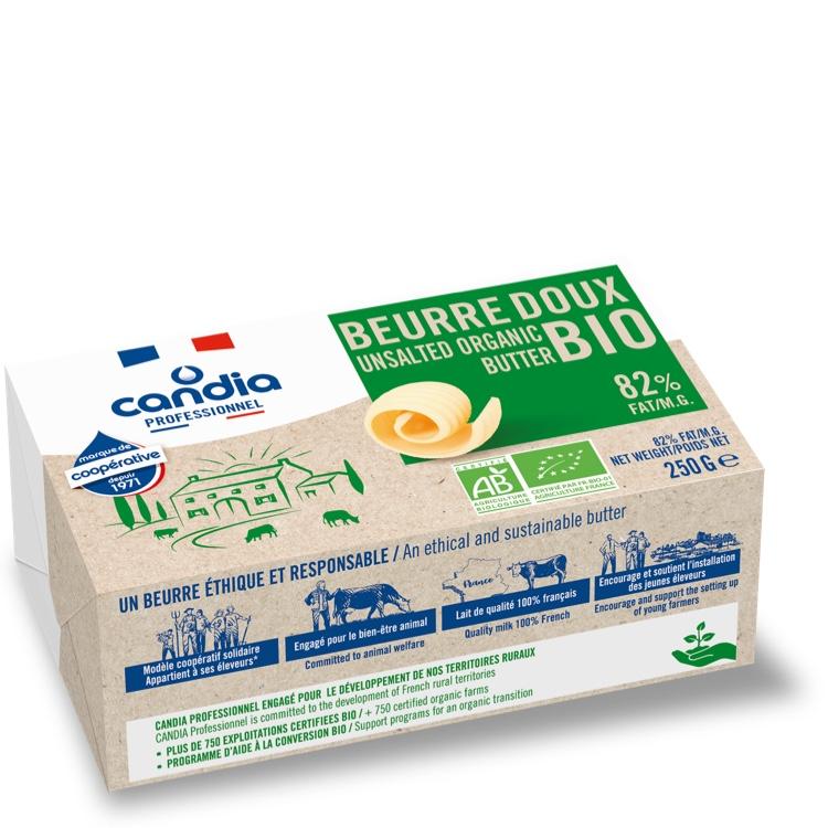Organic Butter blocks 250g unsalted
