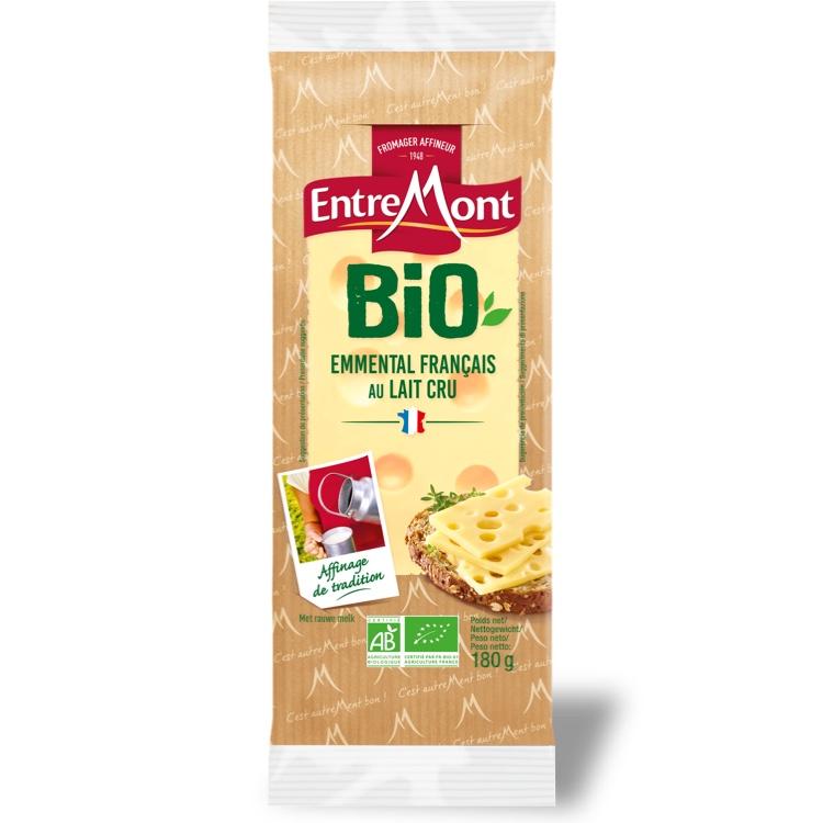 Organic Entremont Emmental Bio Portions 180g