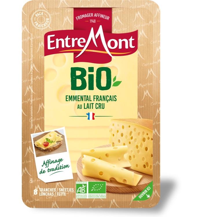 Organic Entremont Emmental Bio Slices 120g