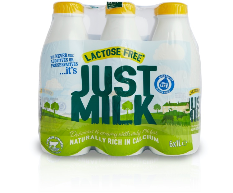 JUST MILK Lactose Free UHT Milk