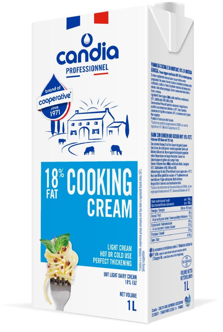 Candia Professional 18% UHT Cooking Cream